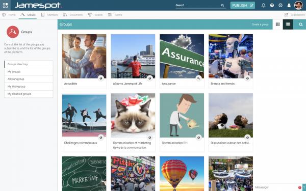 Jamespot - Pack Fast Track - OVHcloud Marketplace