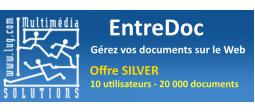 EntreDoc - Gestion Electronique de Documents - Offre SILVER - OVHcloud Marketplace
