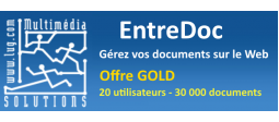 EntreDoc - Gestion Electronique de Documents (GED) - Offre GOLD - OVHcloud Marketplace