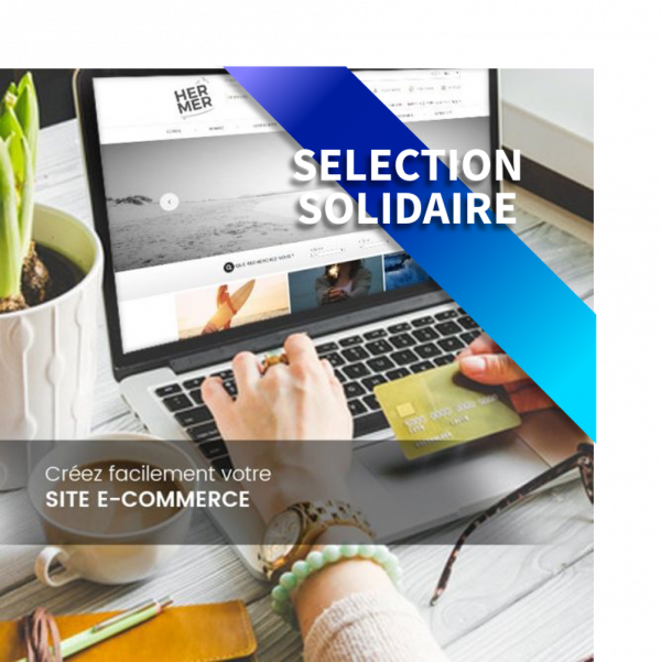 Site E-commerce 100 articles + Click & Collect Offert - OVHcloud Marketplace