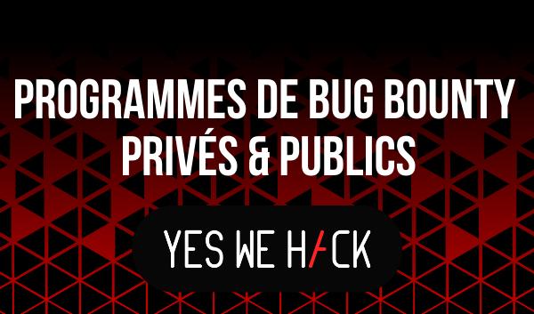 Bug Bounty - YesWeHack - OVHcloud Marketplace