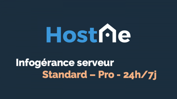 Infogérance serveur Linux/Windows - OVHcloud Marketplace