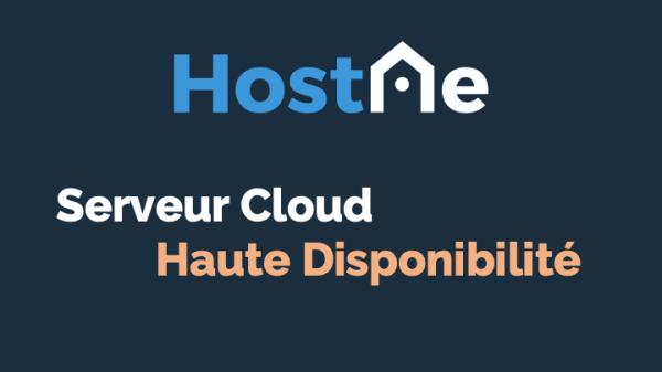 Serveur Cloud haute disponibilité (HA) - OVHcloud Marketplace