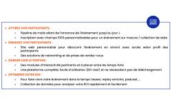 AppCraft Everywhere - plateforme événementielle - OVHcloud Marketplace