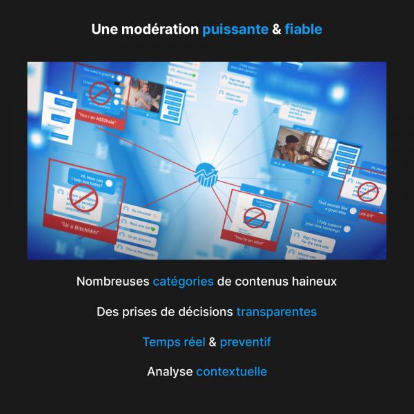 Modérer vos plateformes et réseaux sociaux - OVHcloud Marketplace