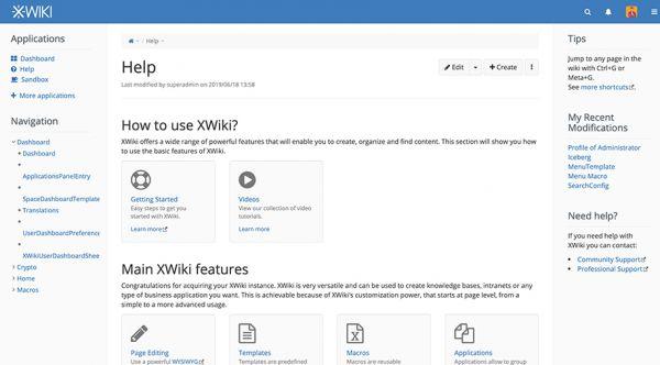 XWiki - OVHcloud Marketplace
