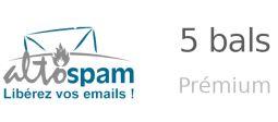 Sécurité des emails - Pack 5 bals Prémium - OVHcloud Marketplace