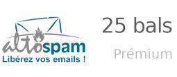 Sécurité des emails - Pack 25 bals Prémium - OVHcloud Marketplace