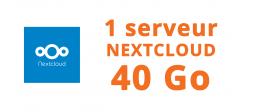 1 serveur Nextcloud 40 Go - OVHcloud Marketplace