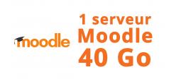 1 serveur Moodle 40 Go - OVHcloud Marketplace