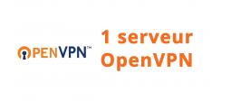1 serveur OpenVPN - OVHcloud Marketplace