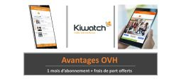 Télésurveillance - Kiwatch   Abonnement Pro - Pack 1 - OVHcloud Marketplace