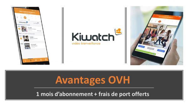 Télésurveillance - Kiwatch   Abonnement Pro - Pack 3 - OVHcloud Marketplace